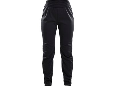 CRAFT Damen WARM TRAIN PANT Schwarz