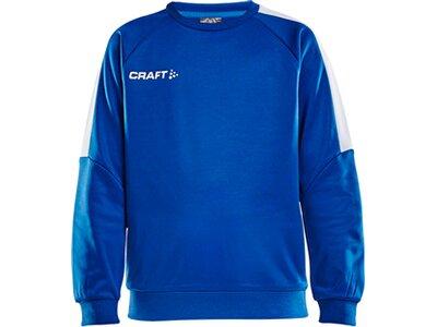 CRAFT Kinder Sweatshirt PROGRESS R-NECK SWEATER Blau