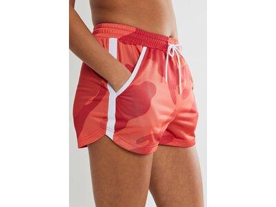 CRAFT Damen Shorts DISTRICT WCT HIGH WAIST Rot
