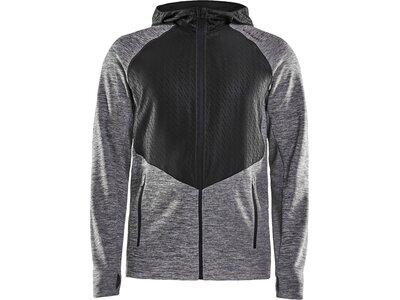 CRAFT Herren CHARGE FZ SWEAT HOOD Jacke Grau