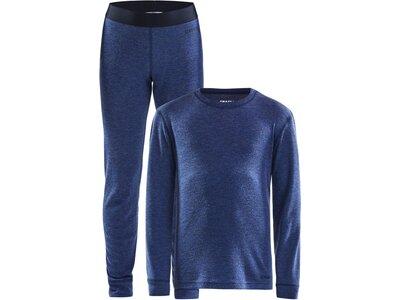 CRAFT Kinder Unterhemd MERINO 180 Blau
