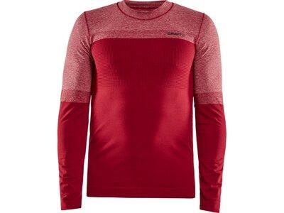 CRAFT Herren Unterhemd WARM INTENSITY CN Rot