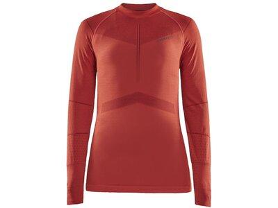CRAFT Damen Unterhemd Active Intensity CN LS W Rot