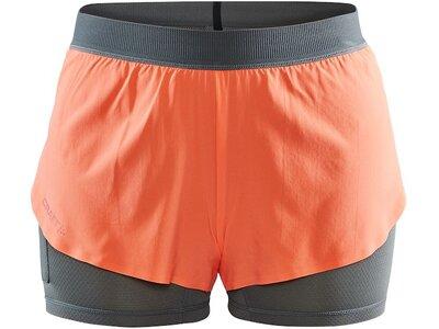 CRAFT Damen Vent 2in1 Racing Shorts Orange