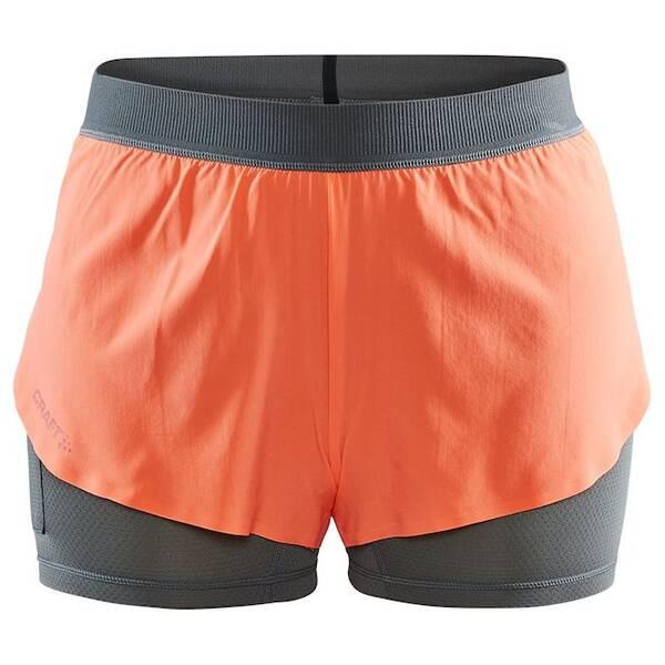 Hosen - CRAFT Damen Vent 2in1 Racing Shorts › Orange  - Onlineshop Intersport