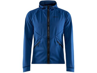 CRAFT Herren Jacke Glide Hood Jacket M Blau