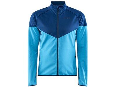 CRAFT Herren Jacke Glide Block Jacket M Blau