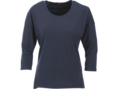 MAUL Damen Shirt Ini SP - Funktions 3/4 sleeve Blau