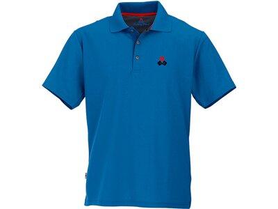 MAUL Herren Spiez fresh 1/2 Poloshirt Blau