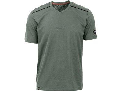 MAUL Herren Mike-1/2 T-Shirt+Print Grau