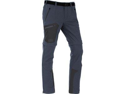 MAUL Herren Hose Eiger XT-elastic T-Zipp off Grau