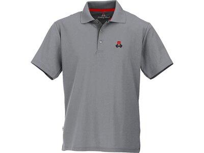 MAUL Herren Spiez fresh 1/2 Poloshirt Grau
