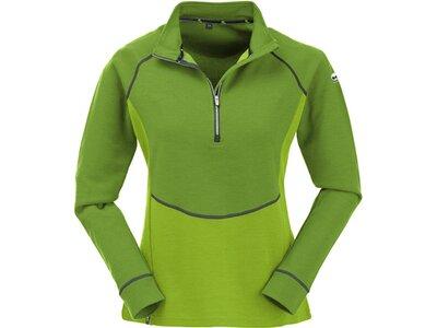 MAUL Damen Shirt Nettetal II 1/1Funktionsshirt+ Grün