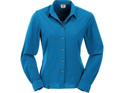 MAUL Damen Bluse Agile2XT- langarm - 1/1 Bluse Blau