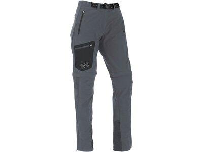 MAUL Damen Oakville-T-Zipp off Hose elast Grau