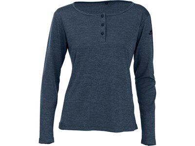 MAUL Damen Polo Marianne 1/1 Shirt Blau