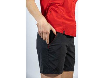 MAUL Damen Leiterspitze Shorts elastic Schwarz