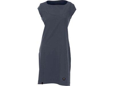 MAUL Damen Kleid Amazona - Kleid uni elastic Grau