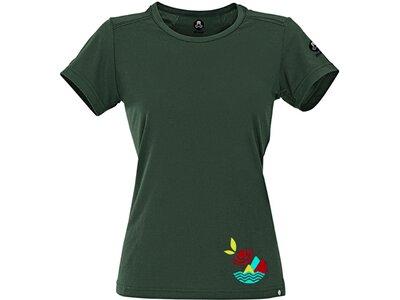 MAUL Damen Angelburg-1/2 T-Shirt+Print Grau