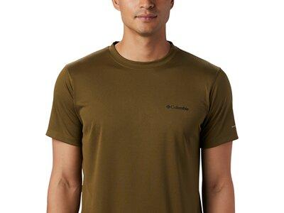 COLUMBIA Herren Zero Rules Short Sleeve Shirt Grau