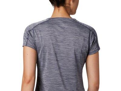 COLUMBIA Damen Zero Rules Short Sleeve Shirt Grau