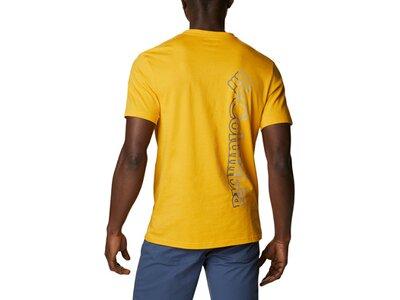 COLUMBIA Herren CSC Basic Logo Short Sleeve Gelb