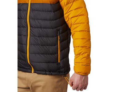 COLUMBIA Herren Jacke Powder Lite Hooded Braun