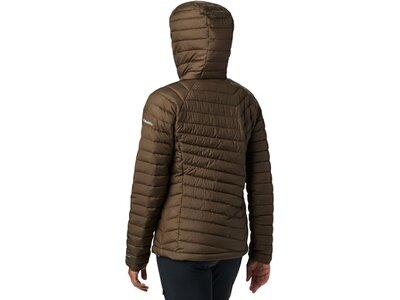 COLUMBIA Damen Jacke Powder Lite Hooded Grau