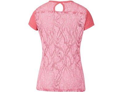 COLUMBIA Damen T-Shirt Peak to Point Novelty SS Shirt Rot