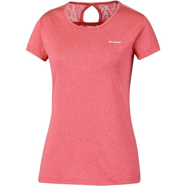 COLUMBIA Damen T-Shirt Peak to Point Novelty SS Shirt