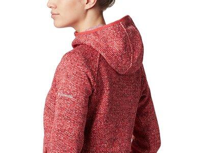 COLUMBIA Damen Pullover Chillin Fleece Rot