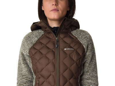 COLUMBIA Damen Pullover Techy Hybrid Fleece Grau