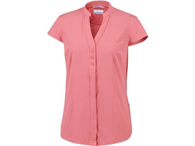 COLUMBIA Damen Outdoor-und Reiseshirt Saturday Trail Stretch SS Shirt Pink
