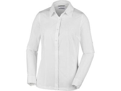 COLUMBIA Damen Outdoor-und Reiseshirt Saturday Trail Stretch LS Shirt Weiß