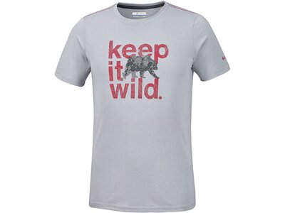 COLUMBIA Herren T-Shirt Miller Valley Short Sleeve Tee Grau