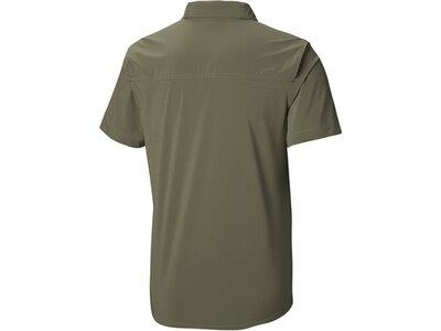 COLUMBIA Herren Wandershirt Triple Canyon Solid Short Sleeve Shirt Grün