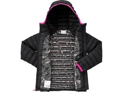 COLUMBIA Powder Lite Kinder Hooded Jacket Schwarz