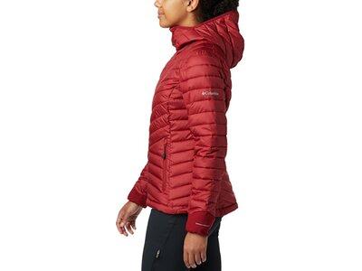 COLUMBIA Damen Unterjacke Windgates Hooded Rot