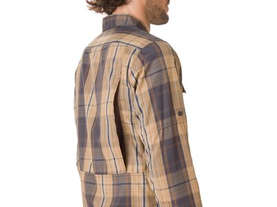 COLUMBIA Herren Hemd Silver Ridge 2.0 Plaid L/S Shirt Grau
