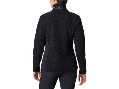 COLUMBIA Damen Pullover Panorama Full Zip Schwarz
