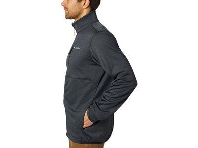 COLUMBIA Herren Pullover Outdoor Elements Full Zip Grau