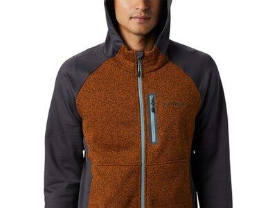 COLUMBIA Herren Altitude Aspect Hooded Hybrid Fleece Schwarz