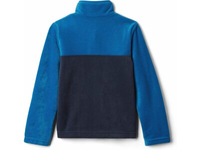 COLUMBIA Jungen Steens Mtn™1/4 Snap Fleece Pullover Blau