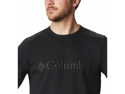 COLUMBIA Herren Unterjacke Columbia Logo Fleece Crew Braun
