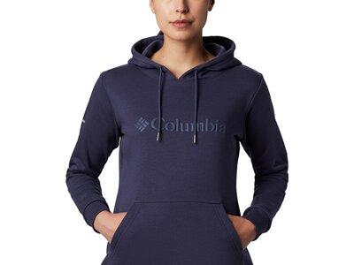 COLUMBIA Damen Kapuzensweat Columbia Logo Schwarz