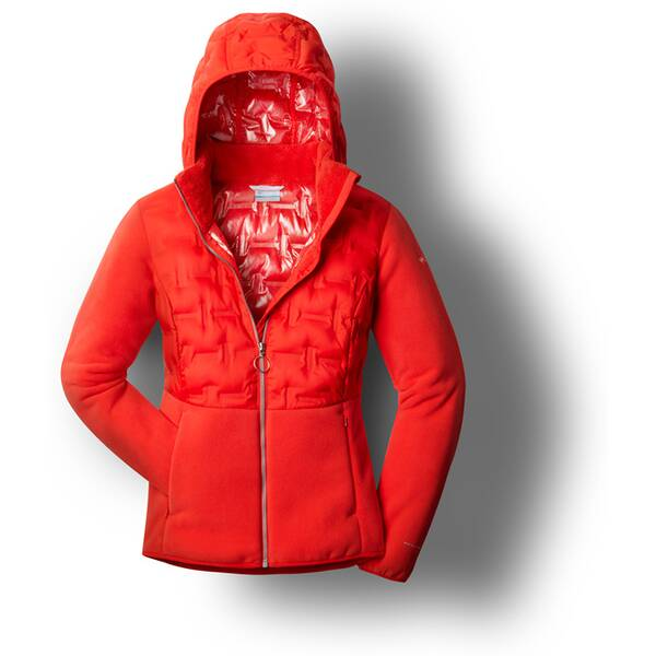 COLUMBIA Damen Delta Ridge™ Hybrid Full Zip Fleece