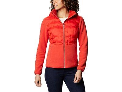 COLUMBIA Damen Delta Ridge™ Hybrid Full Zip Fleece Orange