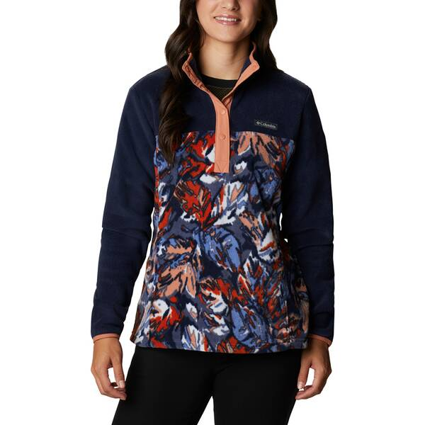 COLUMBIA Damen Benton Springs™ 1/2 Snap Pullover mit Print