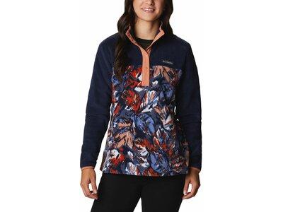 COLUMBIA Damen Benton Springs™ 1/2 Snap Pullover mit Print Schwarz