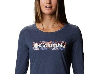 COLUMBIA Damen Blustery Peak™ Long-Sleeve Grau